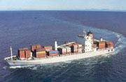 Nave cargo sull'Atlantico